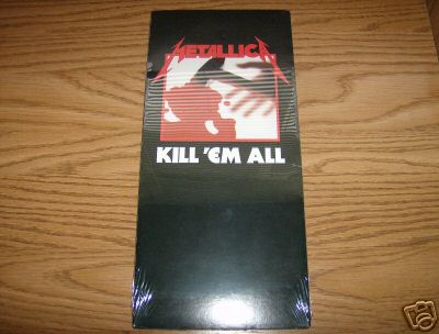 Metallica - Kill'em All in longbox for$457