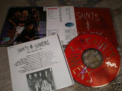 Saints & Sinners (1992, Japanese import) for$133.50