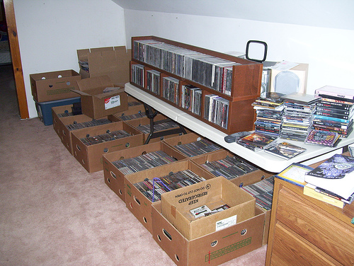 My collection in boxes - 5/9/07