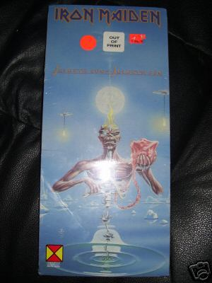 Iron Maiden - 7th Son… (in longbox) for $300 Buy It Now.