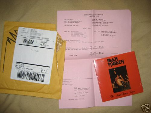 Iron Maiden - Soundhouse Tapes Ltd. Ed. for $250 BIN