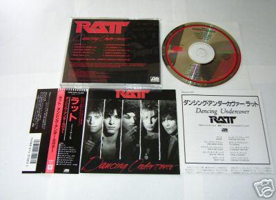 Ratt - Dancing Undercover (1986) Japanesepressing
