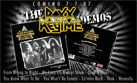 Roxx Regime Demospromo