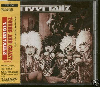 Tigertailz - Young & Crazy (1987) for$122.50