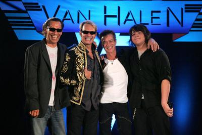 Van Halen press conference2007