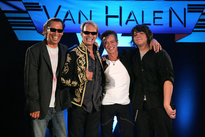 Van Halen press conference 2007