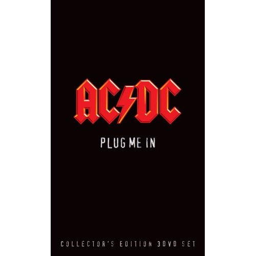 AC/DC - Plug Me In front artwork