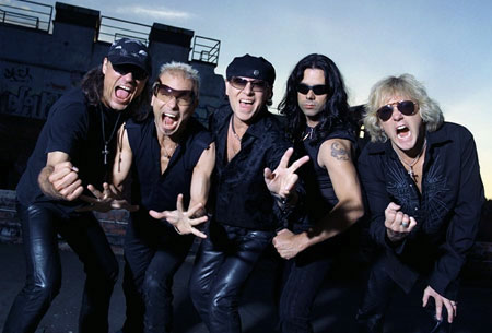 Scorpions lineup2007
