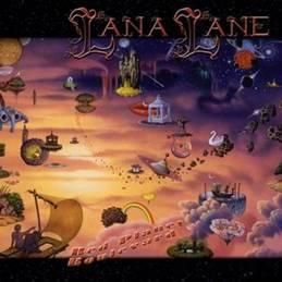 Lana Lane - Red Planet Boulevardartwork