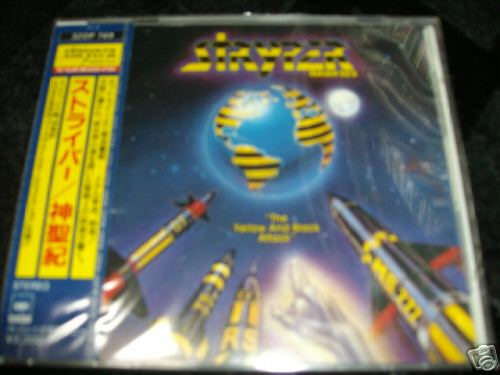 Stryper - The Yellow & Black Attack CD sells for $899.