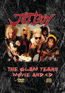 Jetboy - The Glam Years Movie and CD (2007) DVD
