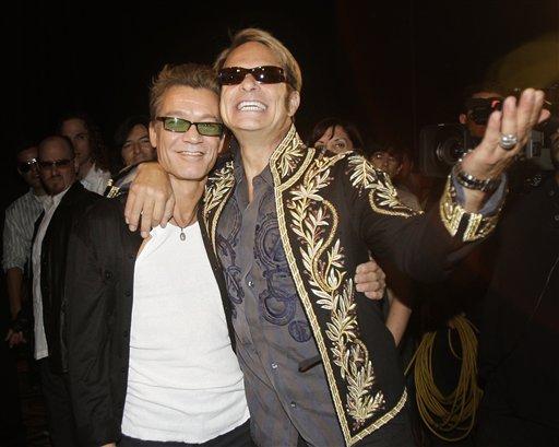 Eddie Van Halen & Diamond Dave2008