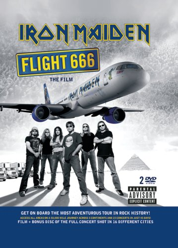 Iron Maiden - Flight 666 DVD