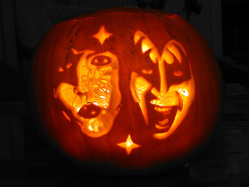 KISS pumpkin