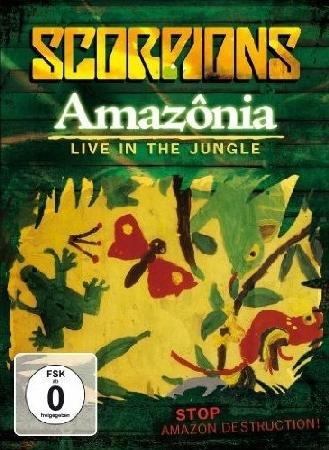 Scorpions - Amazonia DVD (2009)