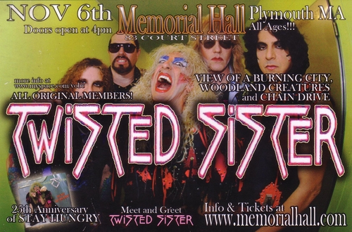 Twisted Sister - 11-6-09